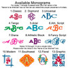 Available Monograms