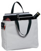 Open polyester canvas tote