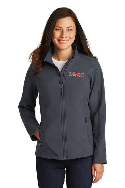 Randall's Grey Lady's Style Jacket with embroidered logo