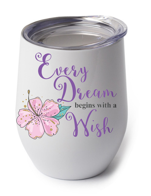 Every Dream begins with a Wish design