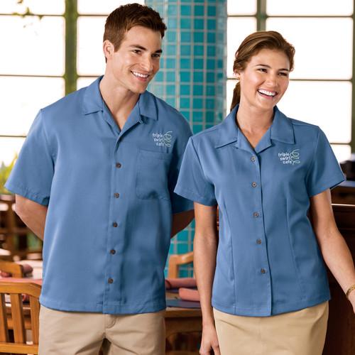 Ladies easy care camp shirt
