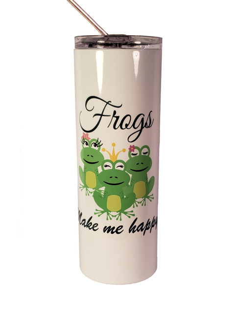 Shown with the Frogs Make Me Happy design