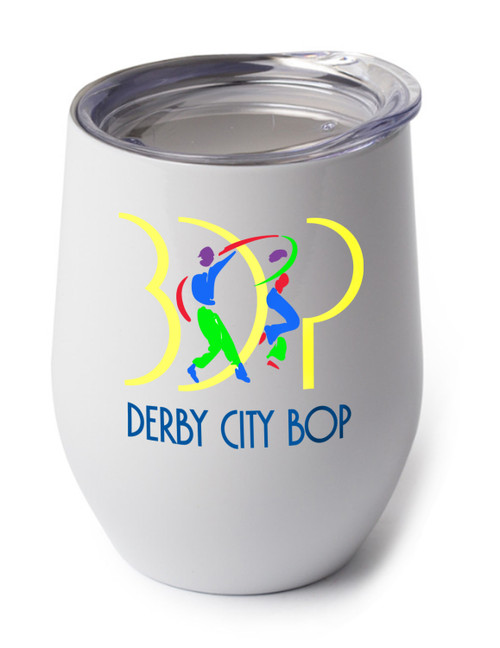 With the Derby City Bop logo