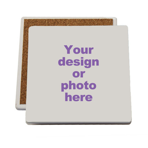 Coasters imprinted with your design