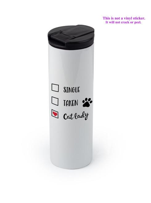 Cat Lady design shown