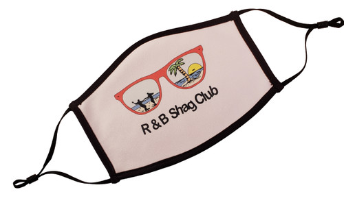 Shown with the R and B Shag club logo