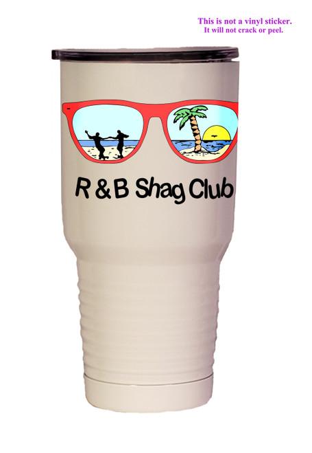 Shown with the R & B Shag Club logo