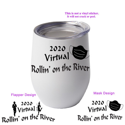 Shown with the mask design on the cup.
