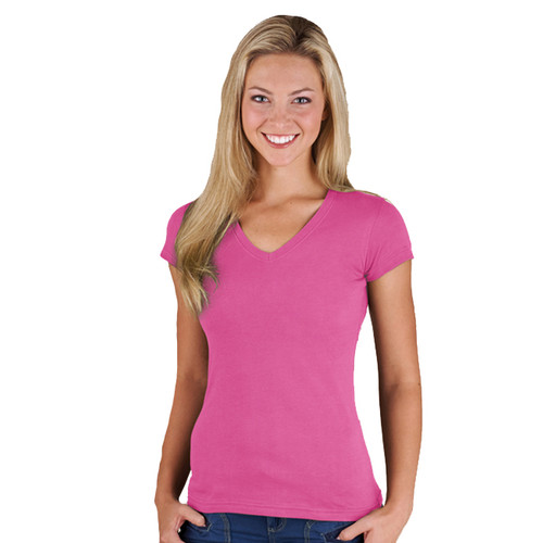 Junior V-neck tee