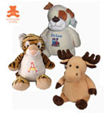 16 inch Embroider Buddy Animals