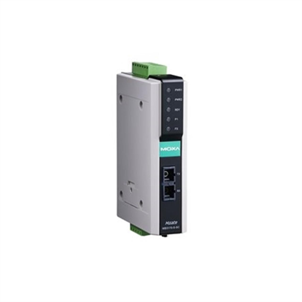 Moxa MGate MB3170I-M-SC 1-Port Advanced Modbus Gateway