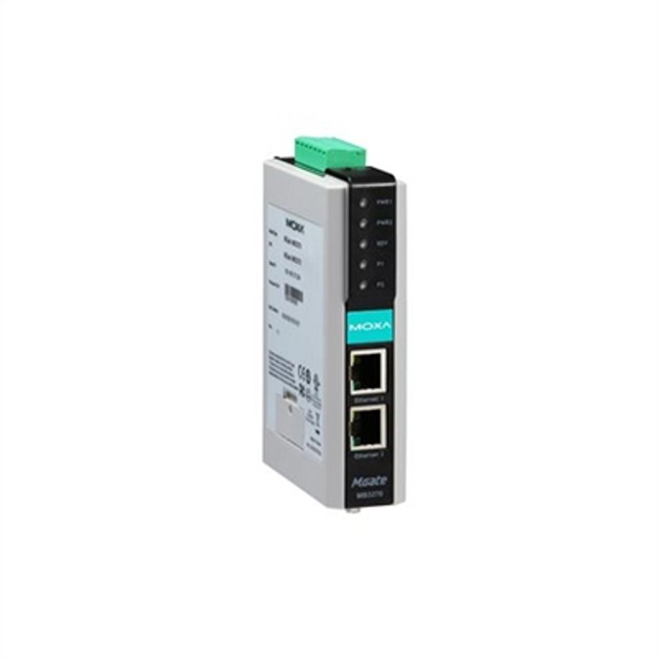 Moxa MGate MB3270I 2-port advanced Modbus gateway