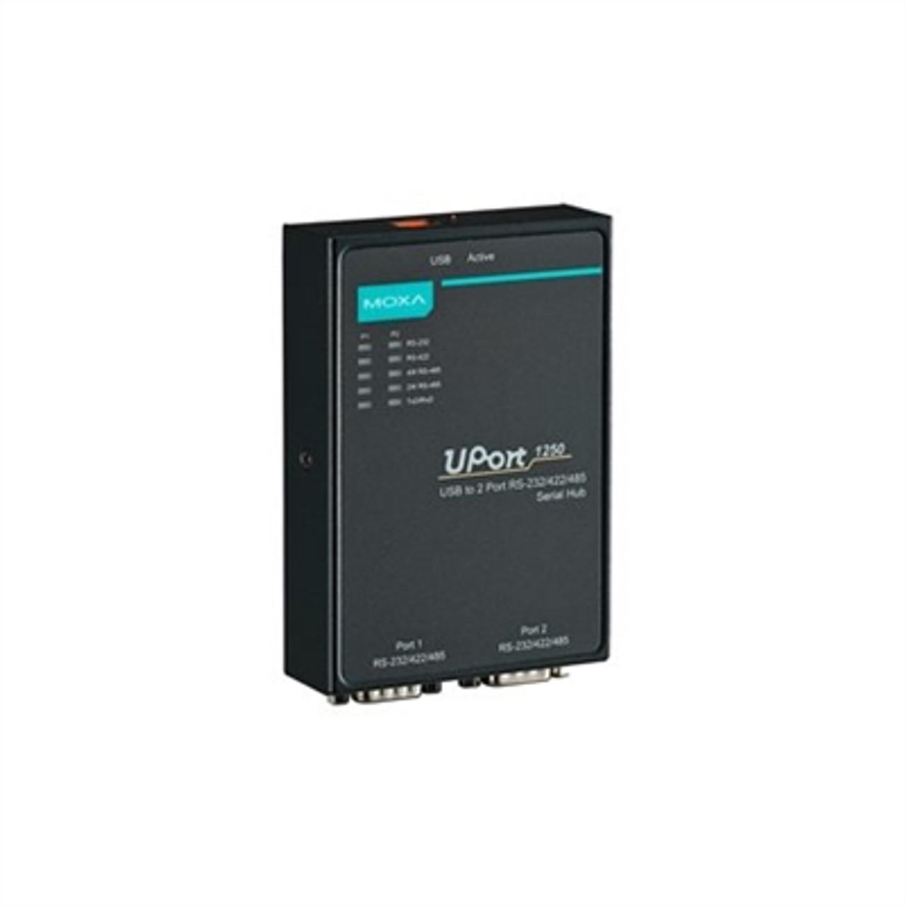 Moxa UPort 1250 USB to 2-port serial hub