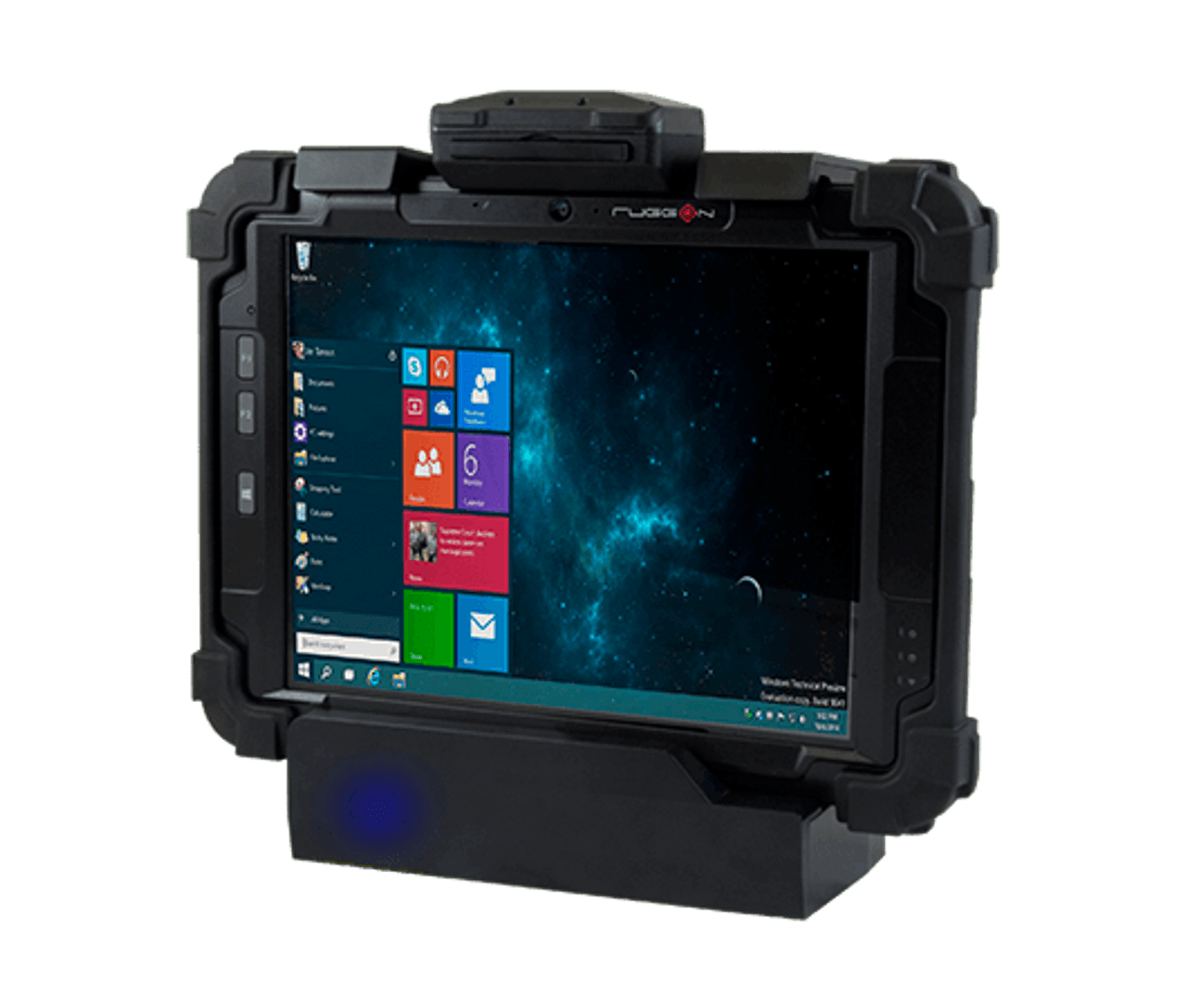 RuggON Blaxtone PM-522 Fully Rugged Tablet offers snap-on modules for data capture