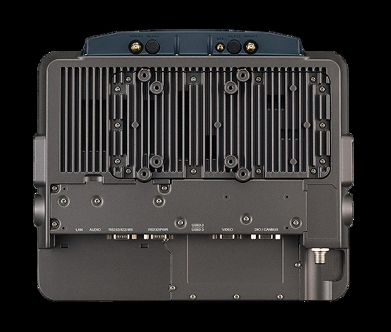"RuggON VX-601 12.1"" Vehicle Mount Computer, rear"