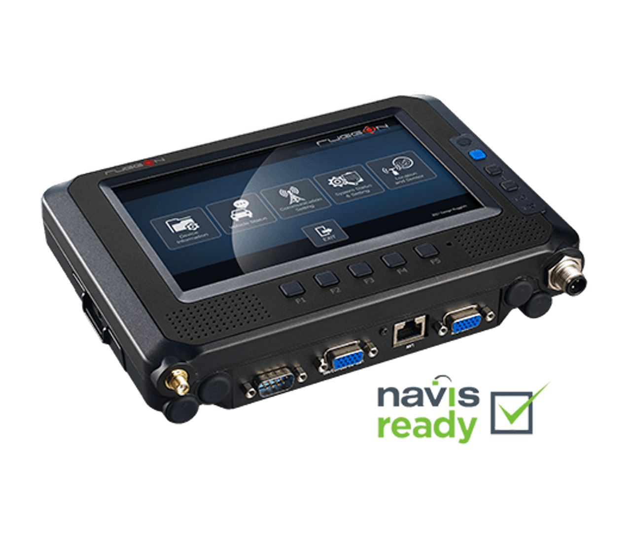 "RuggON MT7000 7""Mobile Data Terminal base view, Navis ready"