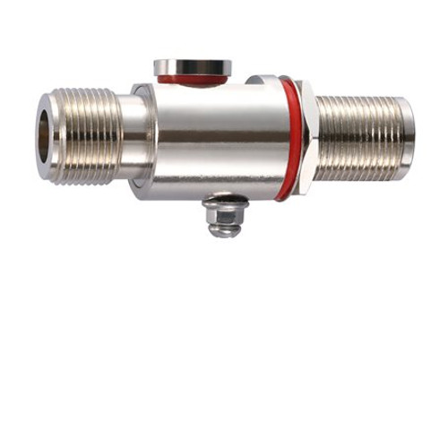 Moxa A-SA-NFNF-02 Surge Arrester - 0 to 6 GHz, N-type (female) to N-type (female) surge arrester