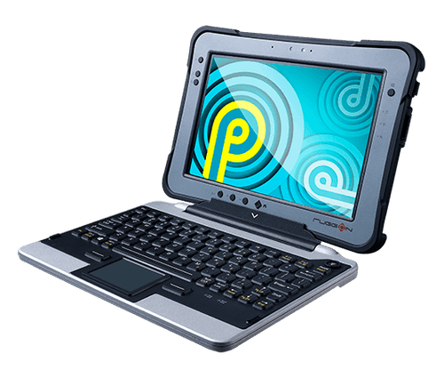 """RuggON SOL PA501 10.1"""" Fully Rugged Tablet with optional detachable keyboard"""