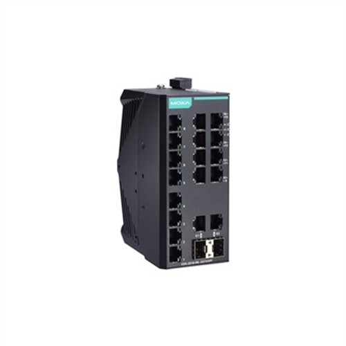 Moxa EDS-2018-ML-2GTXSFP-T Unmanaged Gigabit Ethernet switch