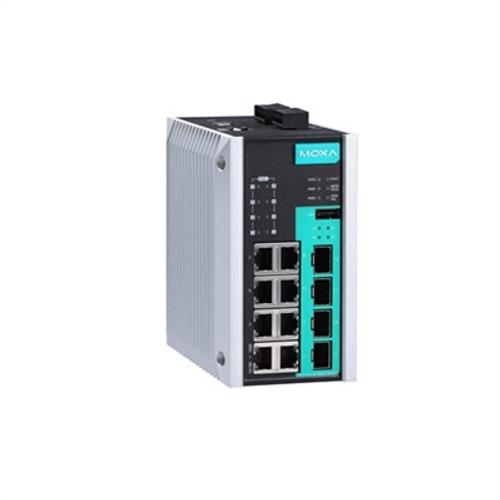 Moxa EDS-G512E-8PoE-4GSFP 12-port full Gigabit managed Ethernet switch