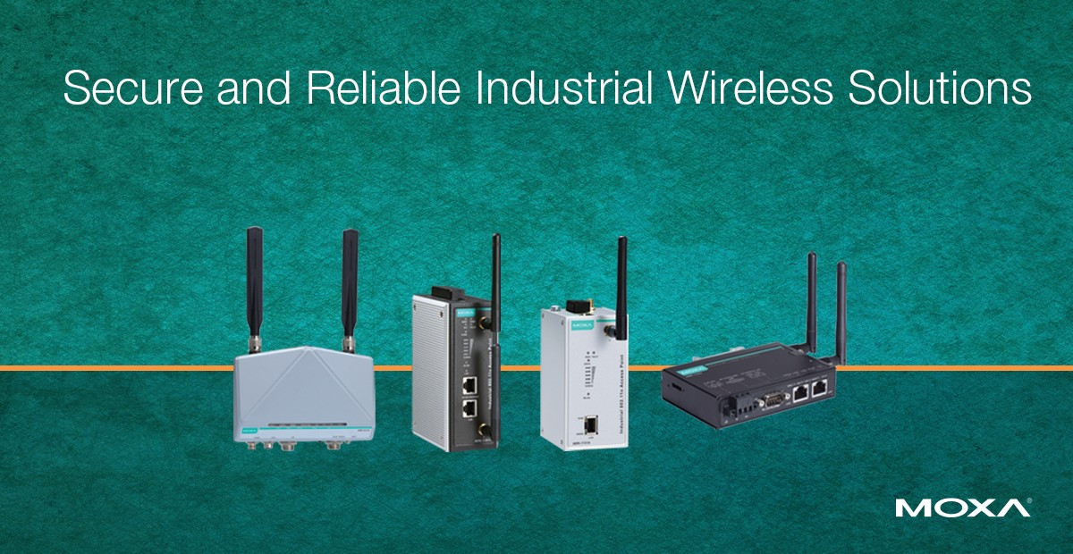 Secure and Reliable Industrial Wireless Solutions