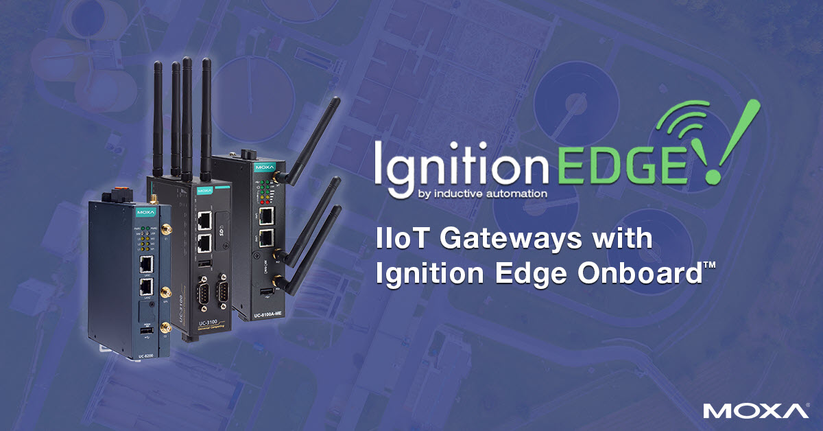 IIoT Gateways with Ignition Edge Onboard