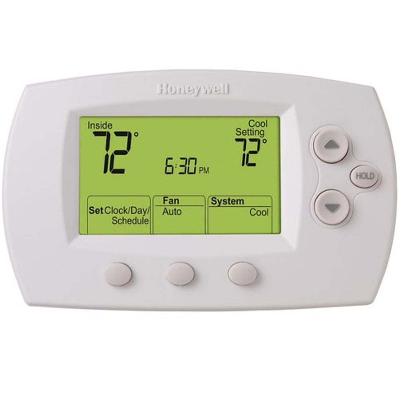 Honeywell TH6110D1005/U FocusPRO 6000 Programmable Thermostat, White