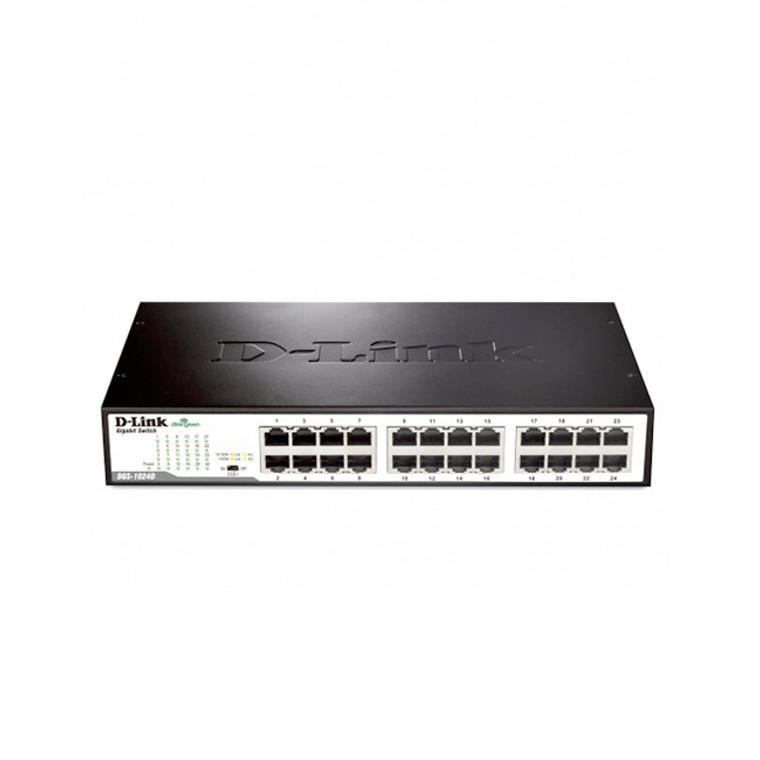 D-Link DGS-1016D 16-Port Gigabit Desktop/Rackmount Switch In Metal Casing