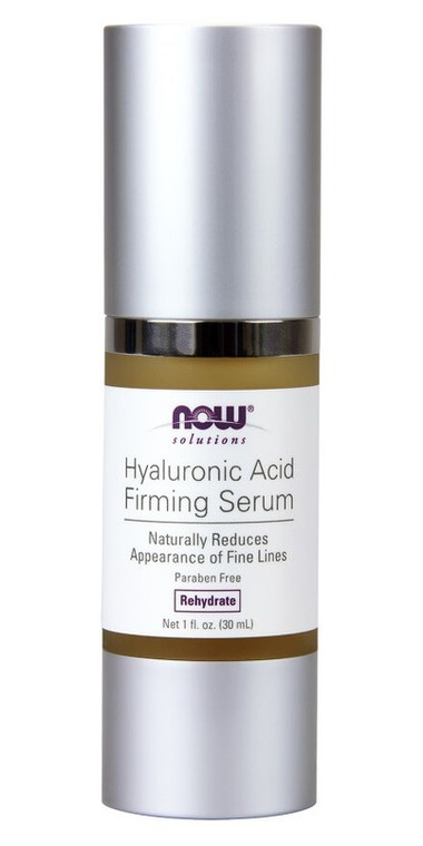 NOW Hyaluronic Acid Firming Serum 30ml Rehydrating and reduces wrinkles.