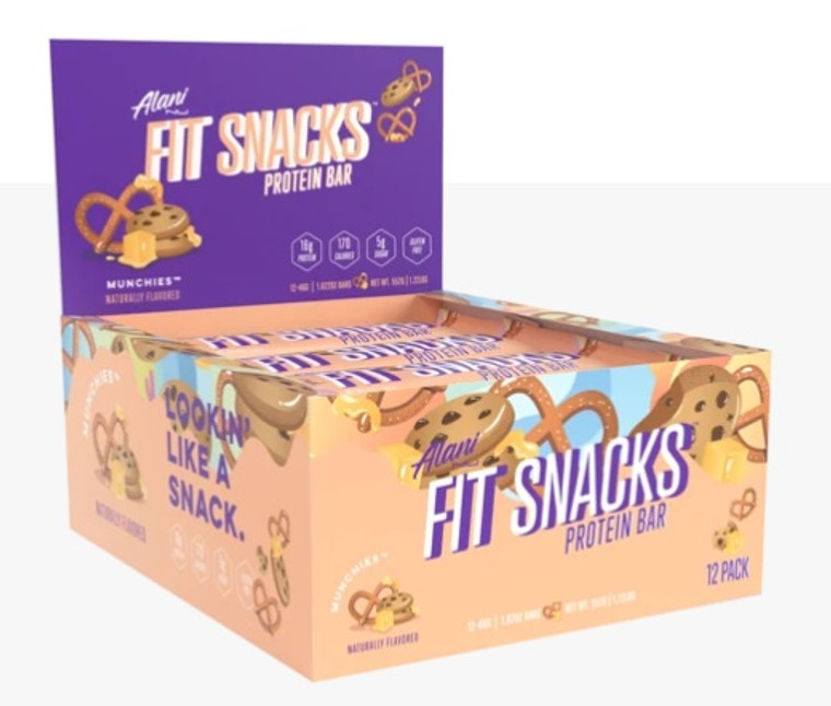 Alaninu Fit Snacks Protein Bar (Box of 12) Munchies