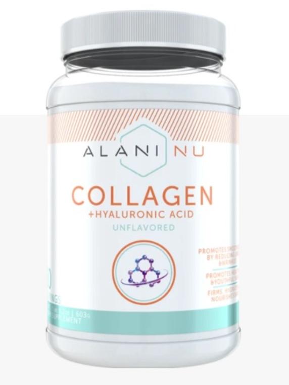 AlaniNu Bovine Collagen + Hyaluronic Acid 30 Servings Unflavoured.