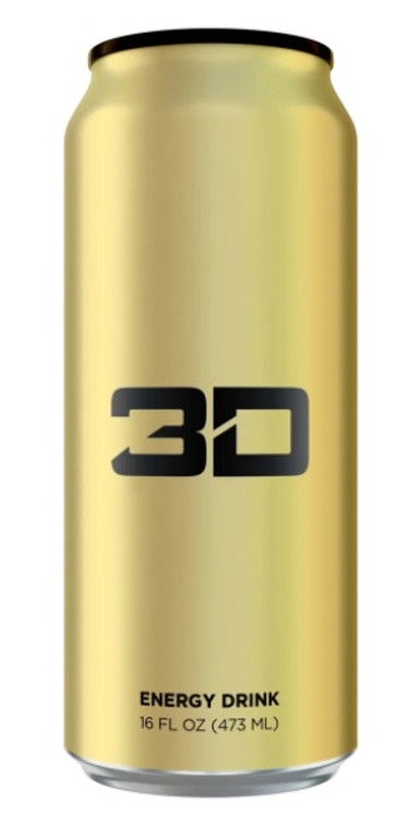 3D GOLD Energy Drink 473ml
