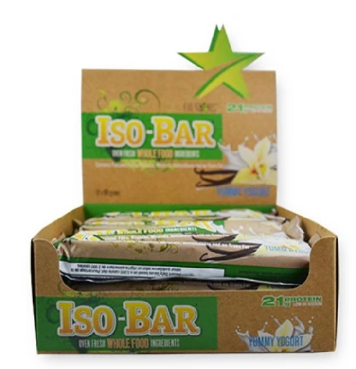 Fit Stars - Iso-Bar (Box of 12) Yummy Yogurt
