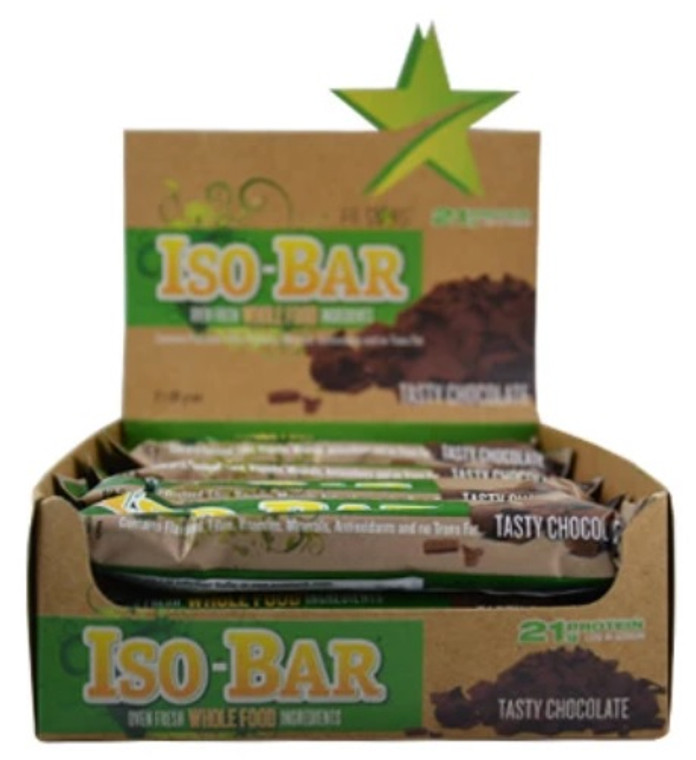 Fit Stars - Iso-Bar (Box of 12) Tasty Chocolate