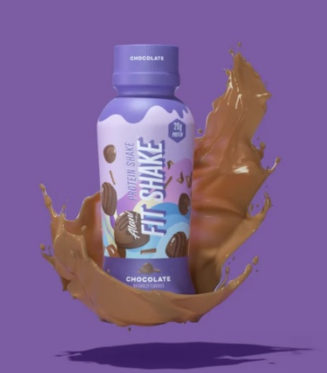 AlaniNu Fit Shake Protein Drink Chocolate 355ml