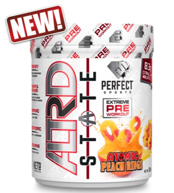 Perfect Sports ALTRD STATE Atomic Peach Rings 20 servings