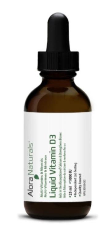 Alora Naturals Liquid Vitamin D3 25ML