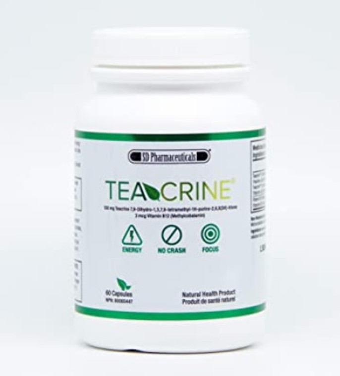 SD Pharmaceuticals TeaCrine 60 caps