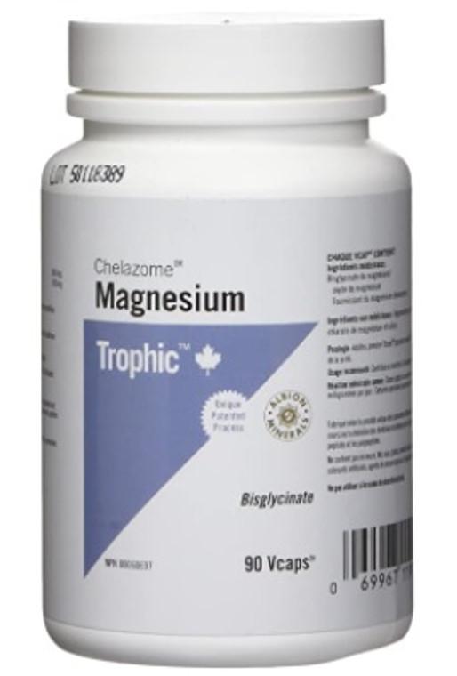 Garden of Life Magnesium Chelazome 90 Veggie Caps