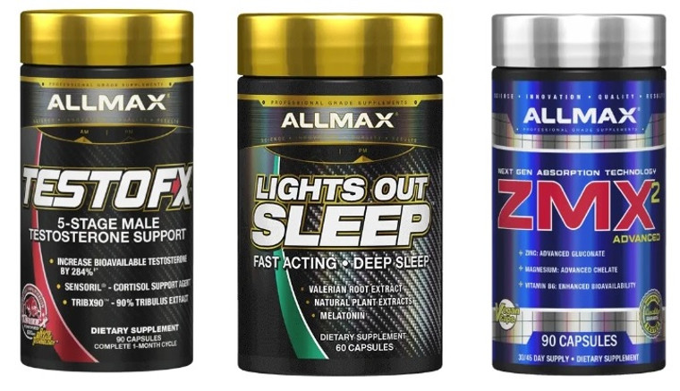 Allmax Bed Time Growth +  Recovery Stack