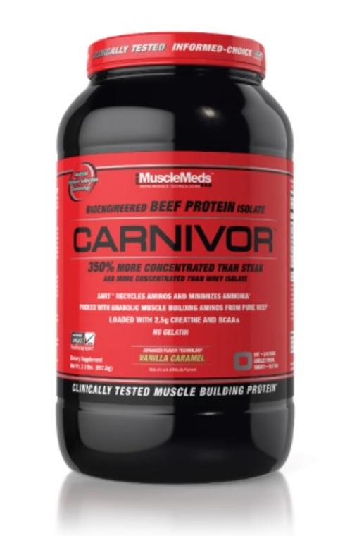 MuscleMeds Carnivor Protein Vanilla Carmel 2lbs