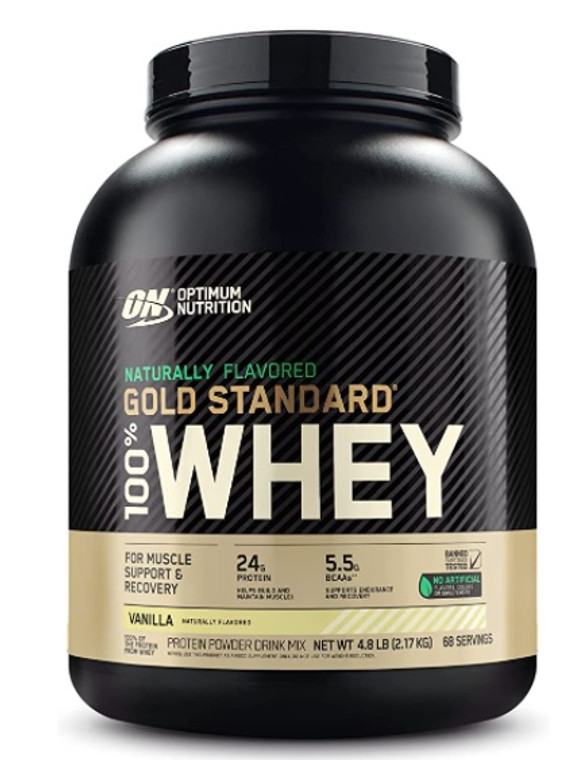 ON Gold Standard Whey Naturally Sweetened 5lbs