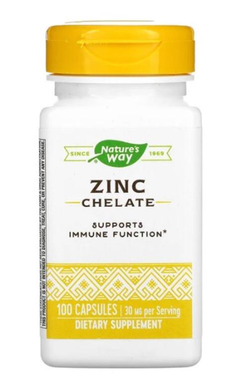 Nature's Way Zinc Amino Acid Chelate 100caps
