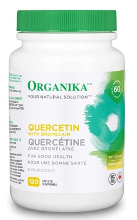 Organika Quercetin 500mg 120 Capsules