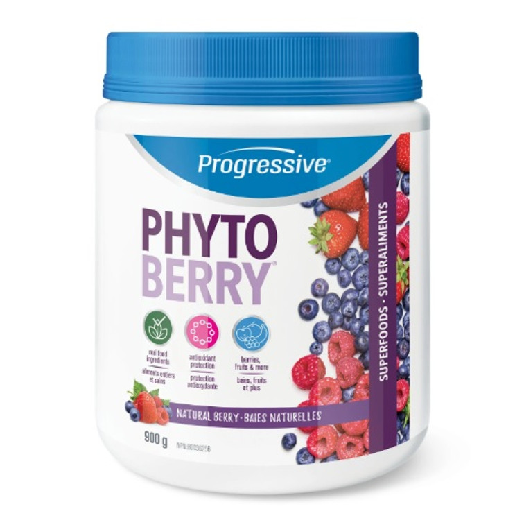 Progressive Phytoberry 900g Natural Berry Antioxidants 60 Servings
