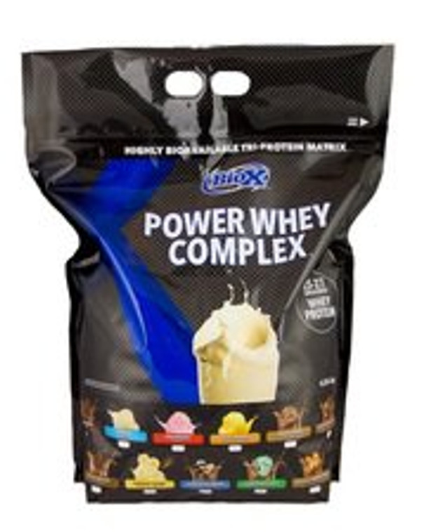 BIOX Power Whey Complex Protein 10lbs