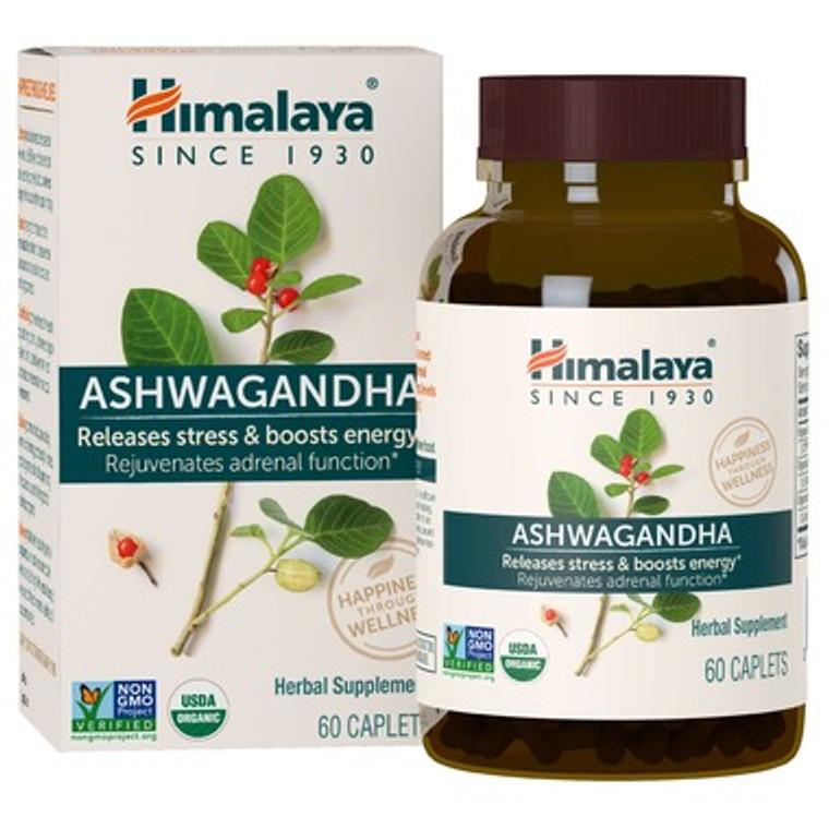 Himalaya Ashwagandha 60 Capsules.