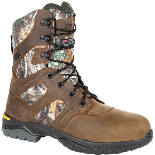 Rocky Deer Stalker Boot 800g Realtree Edge 12