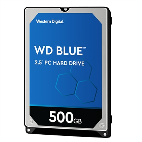 "500GB 2.5"" SATA Blue Single Pa"