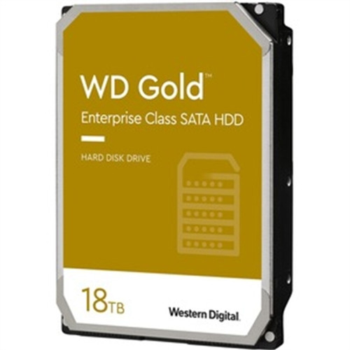 18TB Gold Enterprise SATA HDD - WD181KRYZSP